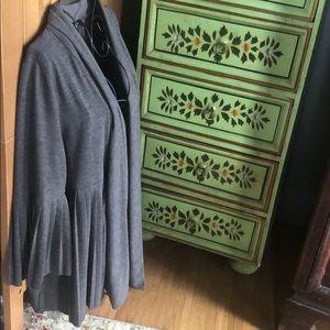 AGB Skirted Jacket/Cardigan  Sz M